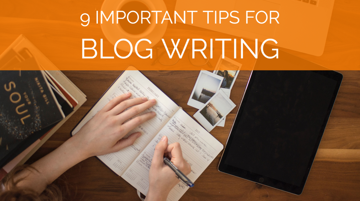 To tell readers blog writing tips